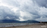 The rain clouds over Subic Bay, Olonggapo, Philippines, 2012.